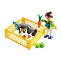 Playmobil 4794 Holčička s morčaty 4