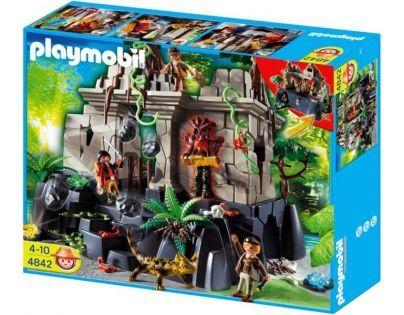 Playmobil 4842 - Chrám s pokladem