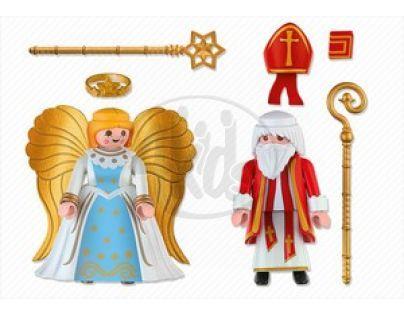 Playmobil 4887 - Svatý Mikuláš a anděl