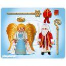 Playmobil 4887 - Svatý Mikuláš a anděl 2