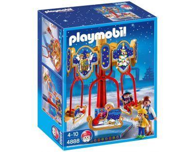 Playmobil 4888 - Zimní kolotoč