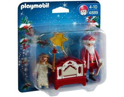 Playmobil 4889 - Santa Claus a flašinet