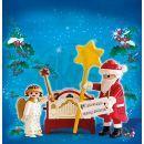 Playmobil 4889 - Santa Claus a flašinet 2