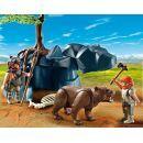 Playmobil  5103 - Medvěd s jeskynním mužem 2