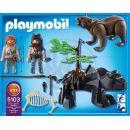 Playmobil  5103 - Medvěd s jeskynním mužem 3