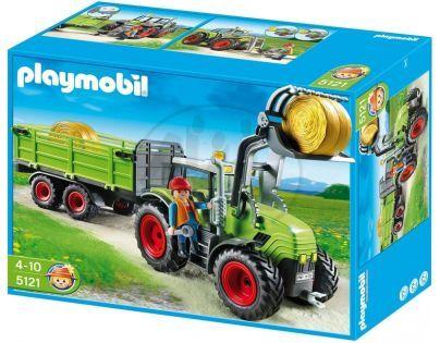 Playmobil 5121 Traktor s přívěsem - Poškozený obal