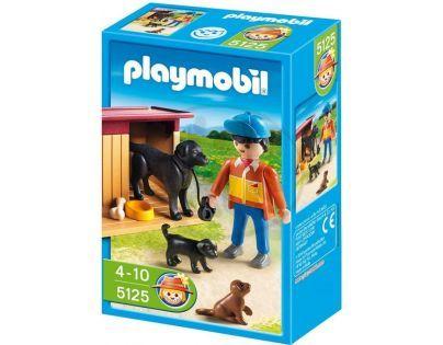 Playmobil 5125 - Pes se štěňaty