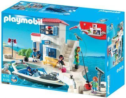 Playmobil 5128 Přístavní policie se člunem