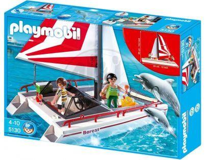 Playmobil 5130 Katamarán s delfíny