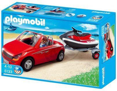 Playmobil 5133 Kabriolet s vodním skútrem