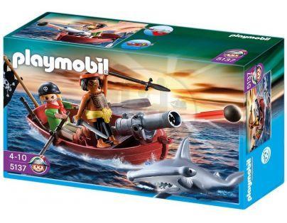 Playmobil 5137 Pirátská veslice s kladivounem