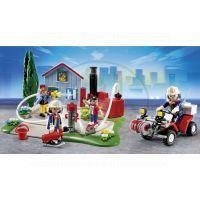 Playmobil 5169 - Výroční Compact Set Zásah hasičů a hasičská čtyřkolka 2