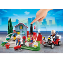 Playmobil 5169 - Výroční Compact Set Zásah hasičů a hasičská čtyřkolka 3