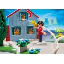 Playmobil 5169 - Výroční Compact Set Zásah hasičů a hasičská čtyřkolka 5