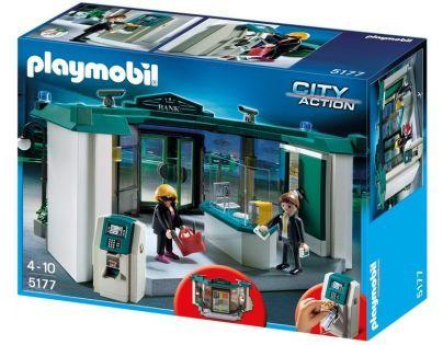 Playmobil 5177 - Banka s trezorem