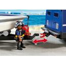 Playmobil 5187 Policejní auto s rychlostním člunem 4