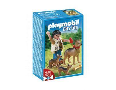 Playmobil 5211 - Německý ovčák se štěňaty