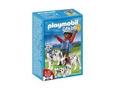 Playmobil 5212 - Dalmatin se štěňaty