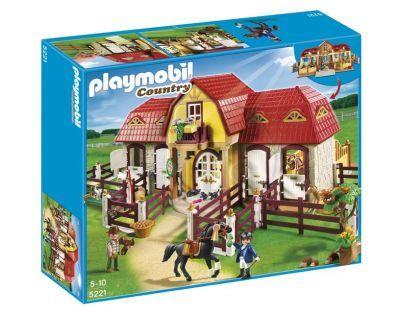 Playmobil 5221 - Velká koňská farma s výběhem