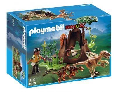 Playmobil 5233 Deinonychus a Velociraptoři
