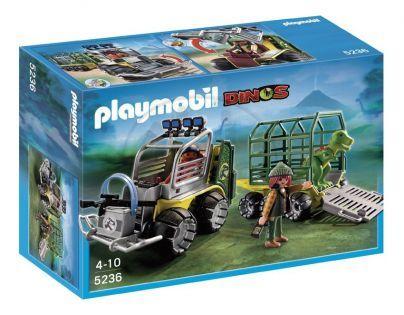 Playmobil 5236 Přepravní vozidlo s T-Rexíčkem