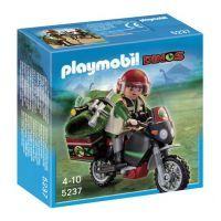 Playmobil 5237 Badatel na motorce