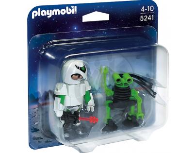 Playmobil 5241 Duo Pack Astronaut a špionážní robot