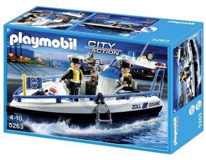 Playmobil 5263 - Celní hlídka na lodi