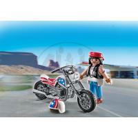 PLAYMOBIL 5280 Motorkář na mašině 2