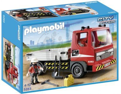 Playmobil 5283 - Flatbed Construction Truck