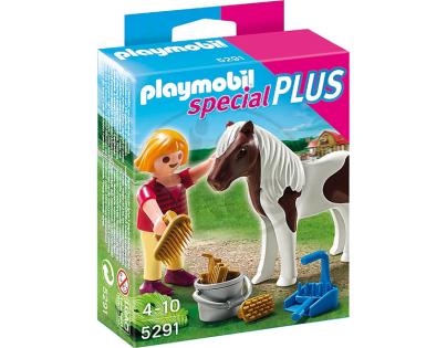 Playmobil 5291 - Holčička s poníkem