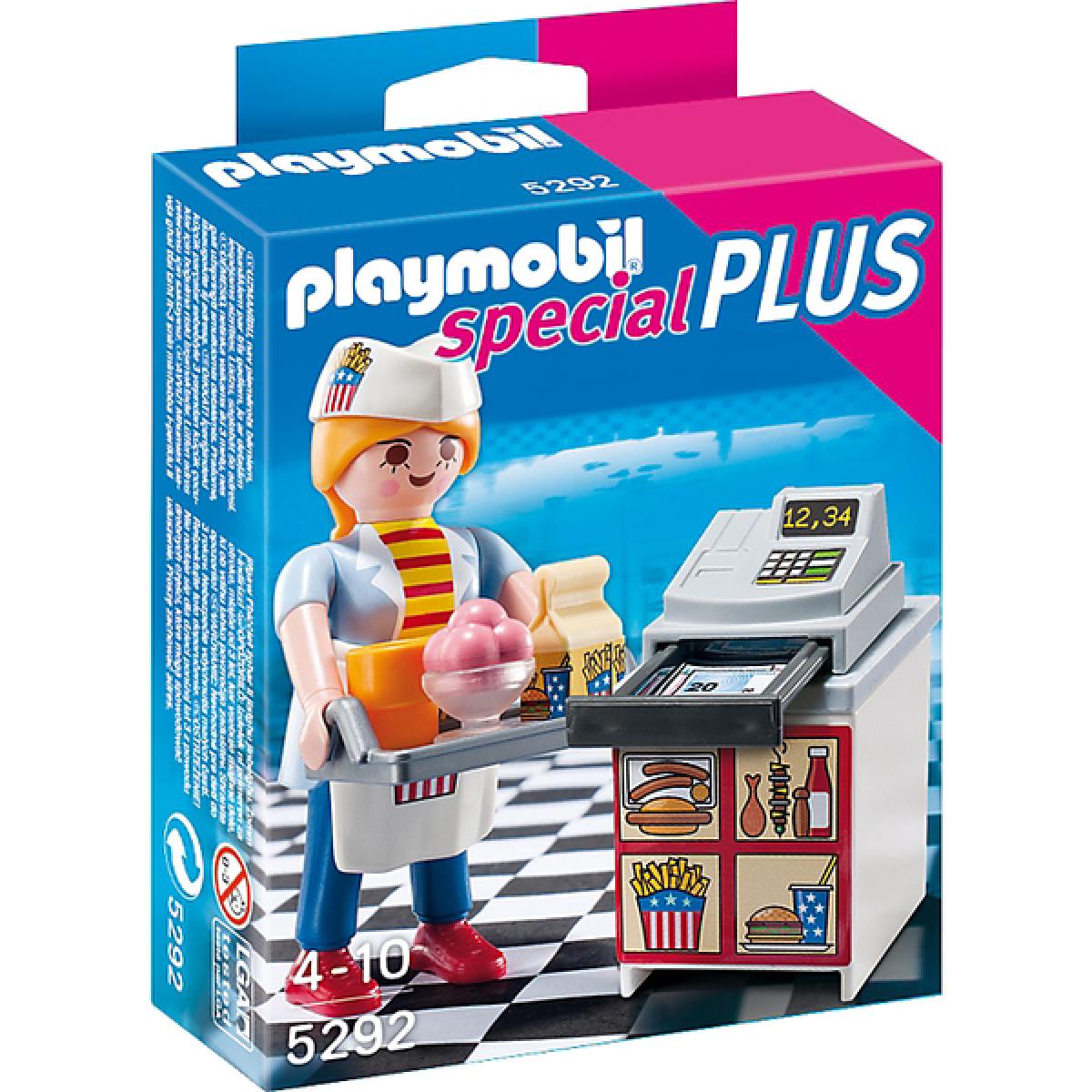 Playmobil 5292 - Servírka u pokladny