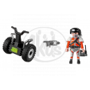 Playmobil 5296 - Top Agent a Segway 3