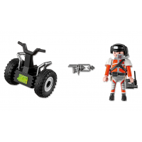 Playmobil 5296 - Top Agent a Segway 3