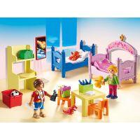 Playmobil 5306 Barevný dětský pokoj 2