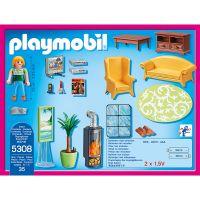 Playmobil 5308 Obývací pokoj s krbem 2