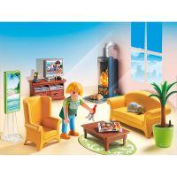 Playmobil 5308 Obývací pokoj s krbem 3