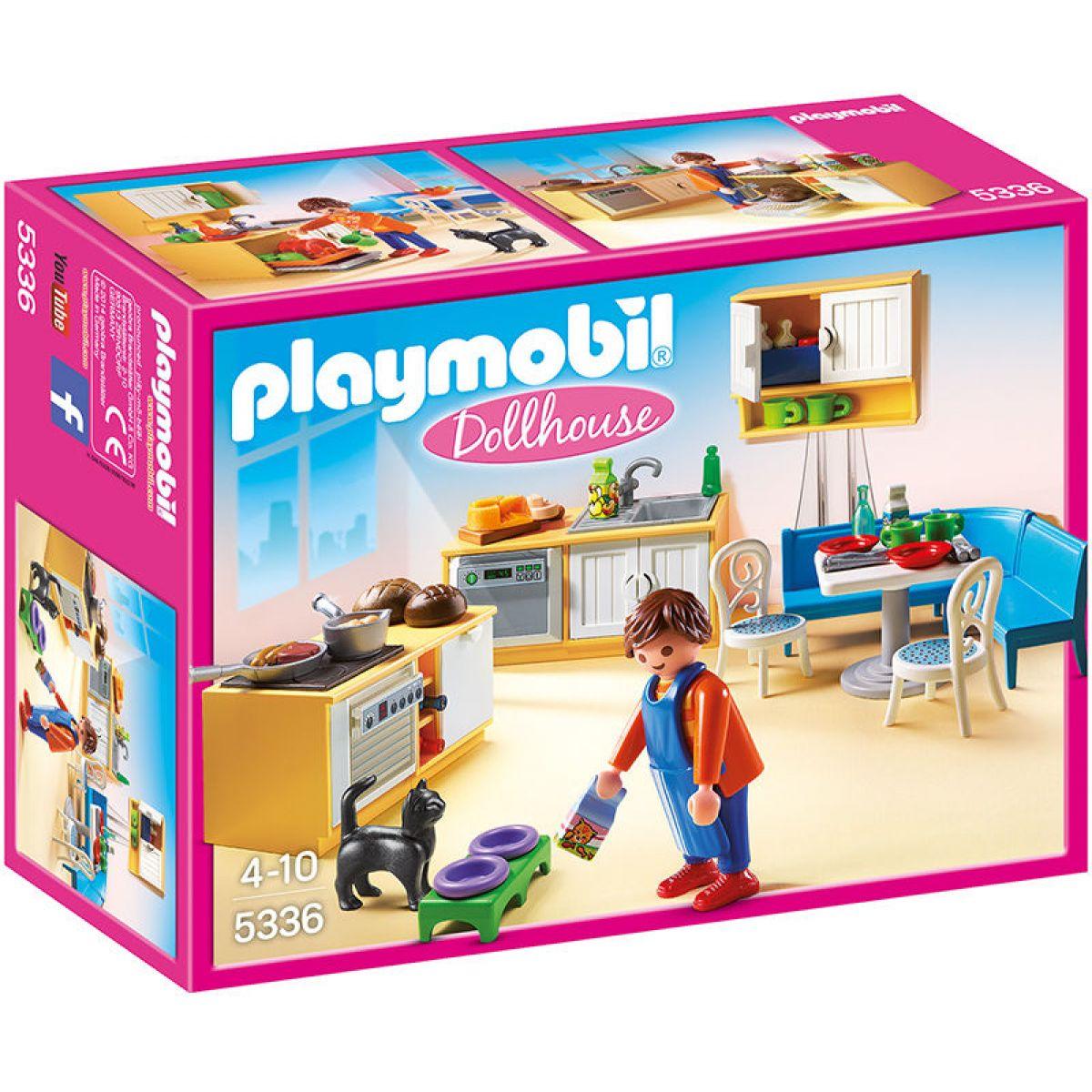 Playmobil 5336 Kuchyně s jídelním koutem