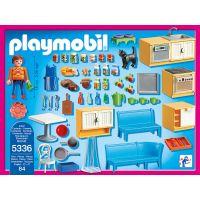 Playmobil 5336 Kuchyně s jídelním koutem 2