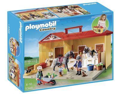 Playmobil 5348 Přenosné koňské stání
