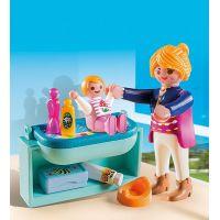 Playmobil 5368 Maminka a dítě s přebalovacím pultem 2