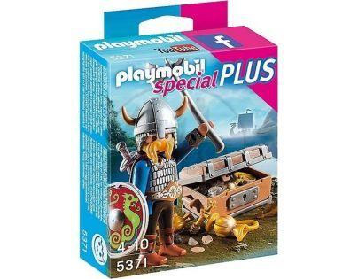 Playmobil 5371 Viking se zlatým pokladem