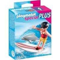 Playmobil 5372 Surfařka s delfínem
