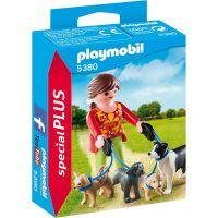 Playmobil 5380 Venčitelka psů