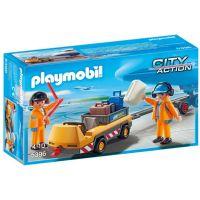 Playmobil 5396 Vozík s letištním pesronálem