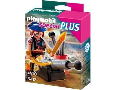 Playmobil 5413 - Pirát s dělem