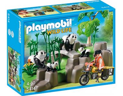 Playmobil 5414 Pandy v bambusovém háji