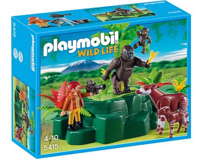 Playmobil 5415 - Gorily a Okapi s kameramanem