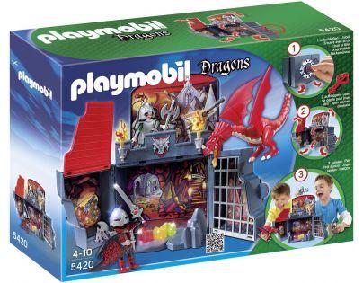 Playmobil 5420 - Přenosný kufřík Dračí sluj