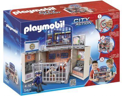 Playmobil 5421 - Přenosný kufřík Policejní stanice